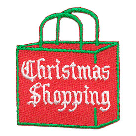 S-3128 Christmas Shopping Patch