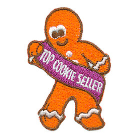 S-3130 Top Cookie Seller Patch