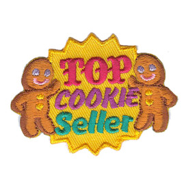 S-3134 Top Cookie Seller Patch