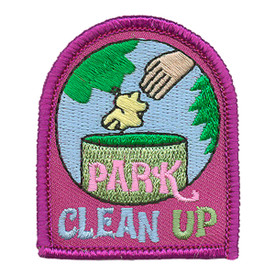 S-3139 Park Clean Up Patch