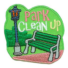 S-3145 Park Clean Up Patch