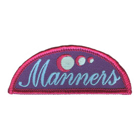 S-3147 Manners Patch