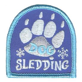 S-3151 Dog Sledding Patch