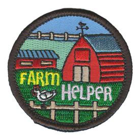 S-3156 Farm Helper Patch