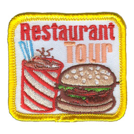 S-3159 Restaurant Tour Patch