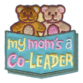 S-3160 My Mom's A Co-Leader Patch
