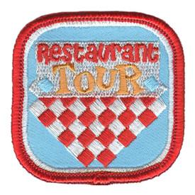 S-3162 Restaurant Tour Patch