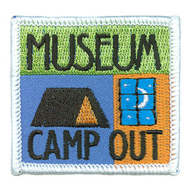S-3188 Museum Campout Patch