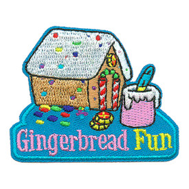 S-3193 Gingerbread Fun Patch
