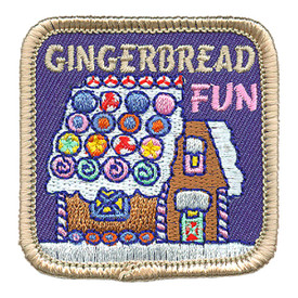 S-3200 Gingerbread Fun Patch