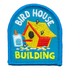 S-3202 Bird House Building Patch