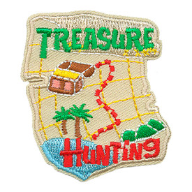 S-3208 Treasure Hunting Patch