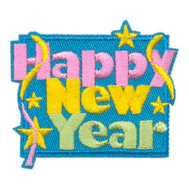 S-3218 Happy New Year Patch