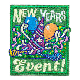 S-3220 New Years Event Patch