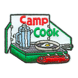 S-3233 Camp Cook Patch
