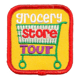 S-3238 Grocery Store Tour Patch