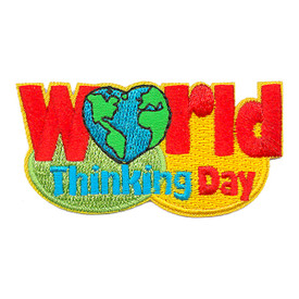 S-3251 World Thinking Day Patch