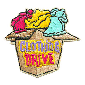 S-3253 Clothing Drive Patch