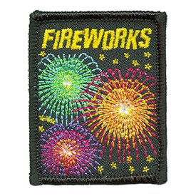 S-3261 Fireworks Patch