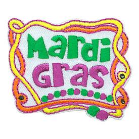 S-3266 Mardi Gras Patch