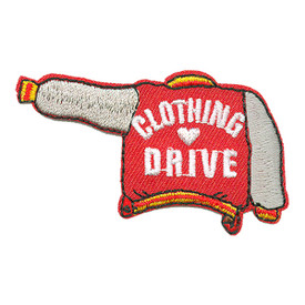 S-3269 Clothing Drive - Jacket Patch