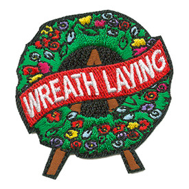 S-3283 Wreath Laying Patch