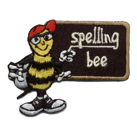 S-0233 Spelling Bee Patch