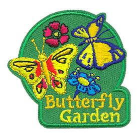 S-3285 Butterfly Garden Patch