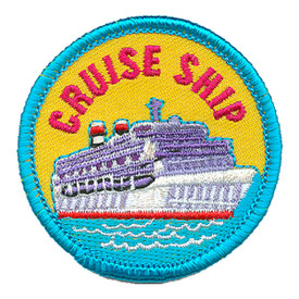 S-3286 Cruise Ship Patch