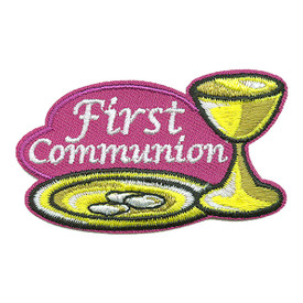 S-3288 First Communion Patch