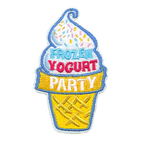 S-3290 Frozen Yogurt Party Patch
