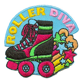 S-3291 Roller Diva Patch