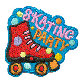 S-3293 Skating Party Patch