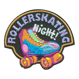 S-3295 Rollerskating Night! Patch