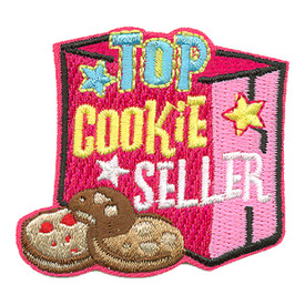 S-3305 Top Cookie Seller Patch