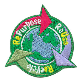 S-3308 Repurpose Reuse Recycle Patch
