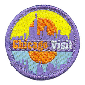 S-3310 Chicago Visit Patch