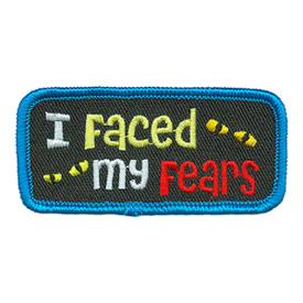 S-3312 I Faced My Fears Patch