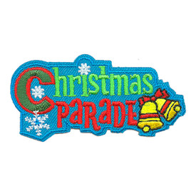 S-3314 Christmas Parade Patch