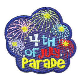 S-3317 4th Of July Parade Patch