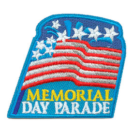 S-3318 Memorial Day Parade Patch