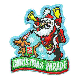 S-3320 Christmas Parade Santa Patch