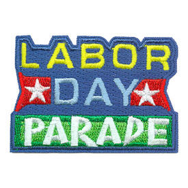 S-3321 Labor Day Parade Patch