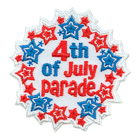 S-3322 4th Of July Parade Patch