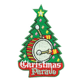 S-3324 Christmas Parade Patch
