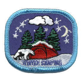 S-0241 Winter Camping - Tent Patch