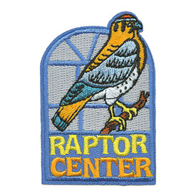S-3370 Raptor Center Patch