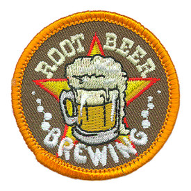 S-3371 Root Beer Brewing Patch