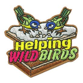S-3372 Helping Wild Birds Patch
