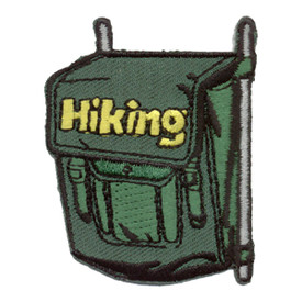 S-0242 Hiking   (Backpack) Patch